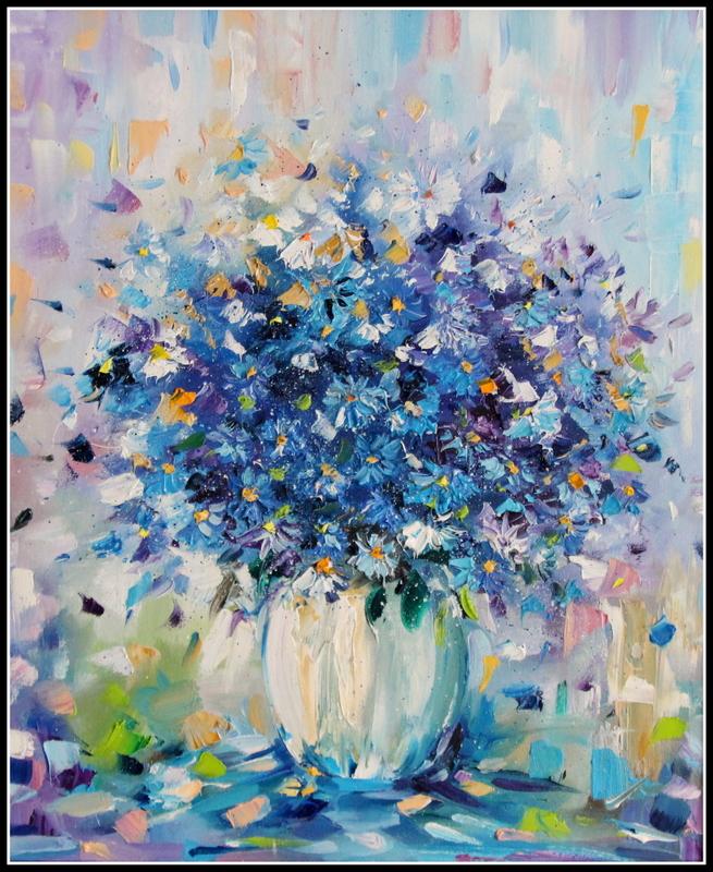 Obrazy Olejne I Akrylowe Kwiaty Cybulska Wilkon Pl